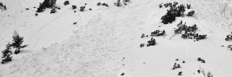 Lawiny śnieżne zdarzają się tylko w Tatrach